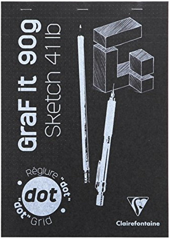 Clairefontaine Set 5 Blöcke geleimt Graf It Dot A4 80 80 80 F 90 g weiß Decke zufällige Farbauswahl B01HO5H7WC  | Qualitätskönigin  146e2b
