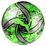 Puma Future Flare Ball Ballon De Foot Mixte Adulte, Green Gecko Black/Charcoal Gray, 3
