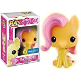 Funko Pop Cartoon : My Little Pony - Fluttershy (Glow in The Dark Exclusive) 3.75inch Vinyl Gift for TV Fans SuperCollection