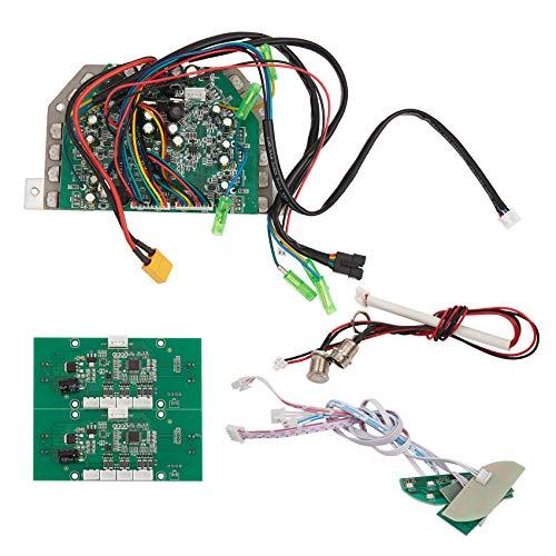 RETYLY Placa Base de Circuito de Control de Equilibrio AutomáTico para Piezas de ReparacióN de Scooter