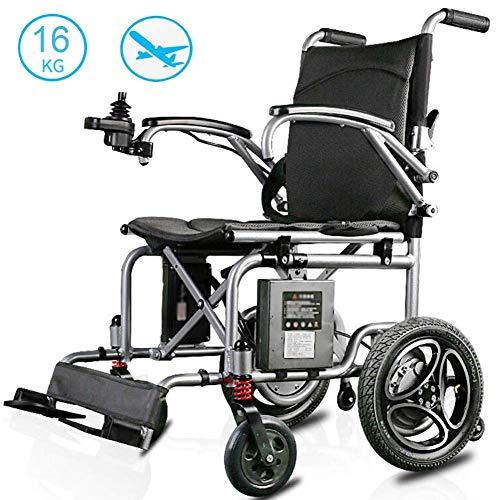 XINTONGDA Elektro-Rollstuhl Faltbare Leicht 16kg, 360 ° Joystick Lithium-Batterie Elektromobilität Hilfe Elektro-Rollstuhl, Leicht Roller, tragbares ältere Behinderte Hilfe Auto