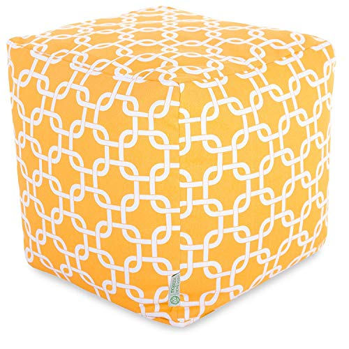 Majestic Home Goods Yellow Links Cube