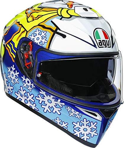 AGV K-3 SV Rossi Winter Test 2016 Helm ML (58)
