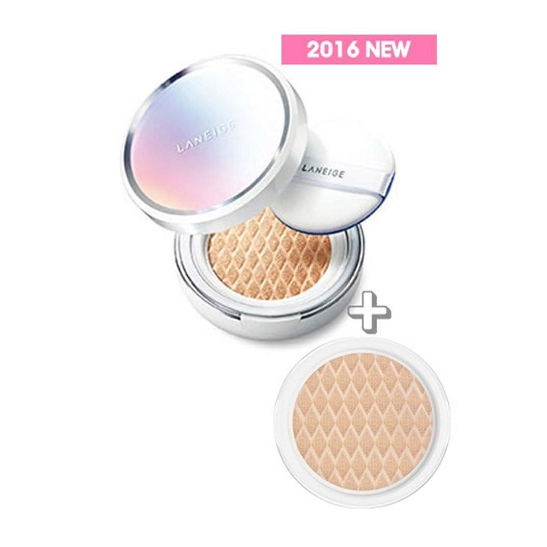 """振る舞いブレス順応性"""" 2016 NEW """" LANEIGE BB Cushion [Whitening] 15g + Refill 15g (#23 Sand)/ラネージュ BBクッション [ホワイトニング] 15g + リフィル 15g (#23 Sand)"""