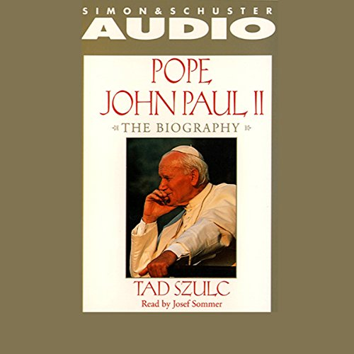Pope John Paul II audiobook cover art