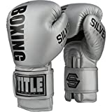 Title Boxing Silver Series Select Training Gloves, Silver, 18 oz