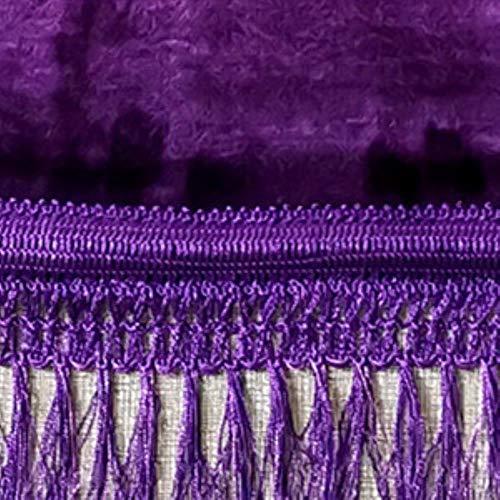 JJZZ Tapis de prière Plus épais 80x120 CM Tapis de prière Islamique Tapis de prière Musulman Sajda Tapis de prière Janamaz Tapis de prière Violet Design,Emballage: 4 pièces