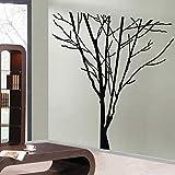 Tianpengyuanshuai Etiqueta de la Pared del árbol Grande Artista de Vinilo decoración del hogar calcomanía Mural Sala de Estar Dormitorio extraíble 42X45 cm