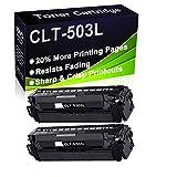 2 cartucce toner compatibili ad alta resa CLT-503L (CLT-K503L) per stampanti Samsung ProXpress SL-C3010DW SL-C3010ND SL-C3060FR SL-C3060FW SL-C3060ND