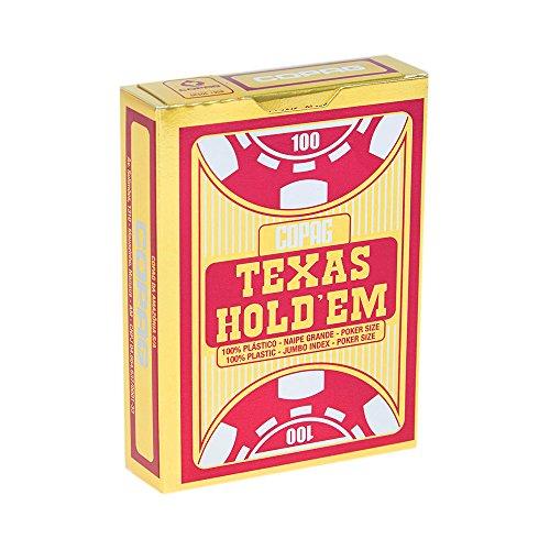 Baralho Texas Hold'em Poker Size Naipe Grande - Copag