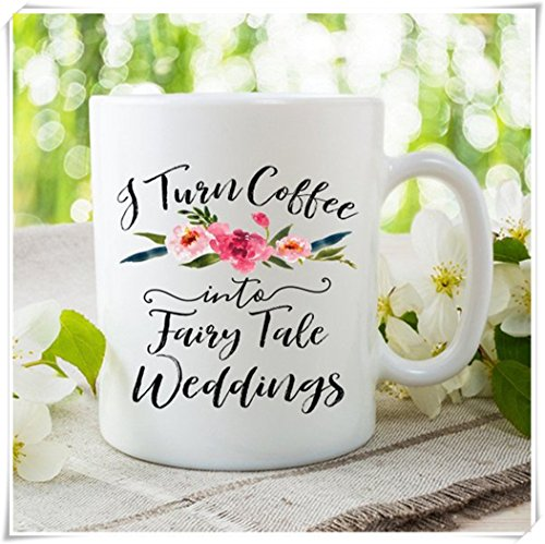 OttoRiven101 - Wedding Celebrant Mug, Wedding Official Mug, Wedding Planner Mug, Wedding Planner Gift, Gift for Wedding Planner, Wedding Coordinator Gift, 11oz Ceramic Coffee Mug/Tea Cup, High Gloss