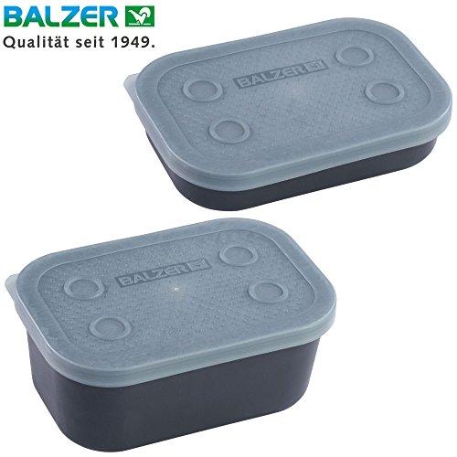 Balzer Madenbox - Köderbox für Maden & Würmer, Angelbox für Köder, Box für Angelköder, Köderbehälter zum Friedfischangeln, Ausführung:0.3 Liter / 15x10x3cm