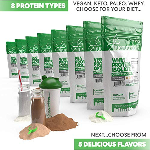5LBS Unflavored Grass Fed Beef Protein Powder Isolate - Paleo, Keto, Carnivore, Sugar-Free, Lactose-Free - Customize Your Protein with Two Free TrueBoost or TrueFlavor Protein Shake Enhancements 3