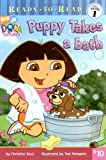 Puppy Takes a Bath (Dora the Explorer Ready-to-Read pre level 1)