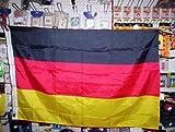Fahne Deutschland mit Hohlsaum ca. 90x150 cm von profimaterial