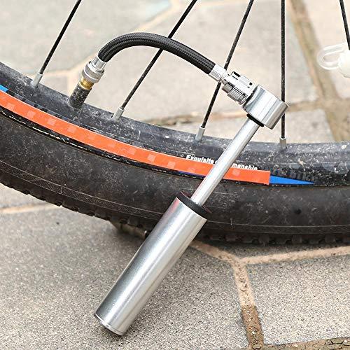 Bomba, mini bomba de bicicleta, inflador, bomba de aire, bomba de bicicleta pequeña, bicicleta de carretera, bicicleta de montaña y BMX, bomba de bolas, inflador de neumáticos AV/Fv-Ball.