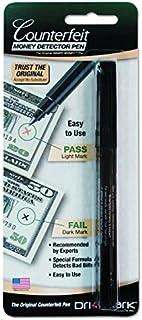 Dri-Mark 351B1 Smart Money Counterfeit Bill Detector Pen for Use w/U.S. Currency