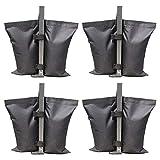 4pcs / Packung Schwerlast Zelt Beschwert Füße Tasche Sand Tasche, Oxford Stoff Sonne Schutz Zelte...