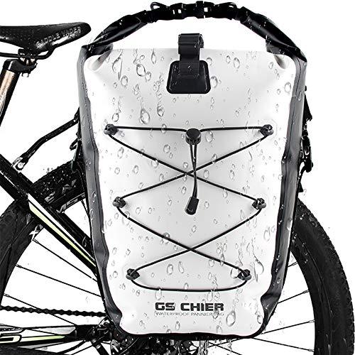 GS CHIER Fahrradtaschen für Gepäckträger,Gepäckträgertasche für Radfahren Fahrrad Gepäckträger | Hohe Qualität und viel Stauraum
