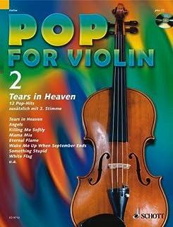 Pop for Violin banda 2Incluye CD–12divertido Canciones de Eric Clap Ton, Robbie Williams, Green Day, etc., para 1–2Violín Arreglados (Notas)