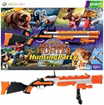 Simply Silver - New Cabela's Big Game Hunter: Hunting Party XBOX 360 Game Bundle With GUN kinect