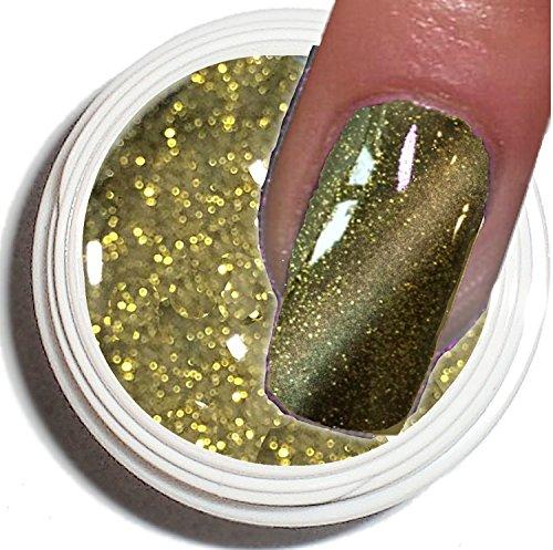 Cat Eye Gel UV 5 ml ~ ~ Golden Dream ~ ~ haut pouvoir couvrant –. De la tendance actuelle dans de modelage de l'ongle.