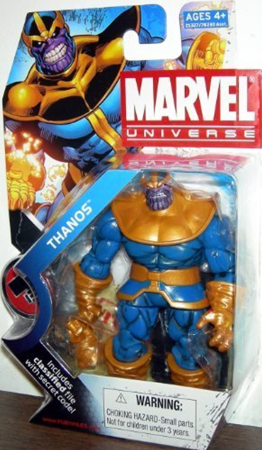 Marvel Universe 3 3 4 Inch Series 11 Action Figure  34 Thanos by Hasbro