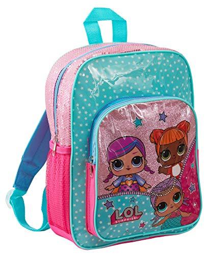 LOL Surprise - Zaino da scuola per ragazze Lol Glitter. taglia unica