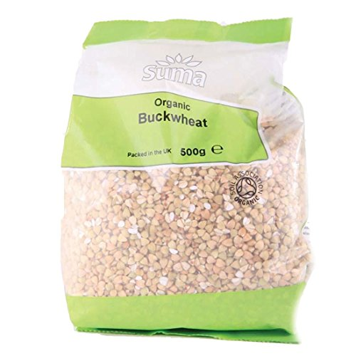 Suma Prepacks - Organic | Buckwheat - Unroasted Organic | 6 x 500G