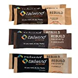Tailwind Grab-and-Go Rebuild Recovery Single Serve Assortment (2 Chocolate-2 Vanilla-2 Coffee) with Complete Protein, Electrolytes and Carbohydrates