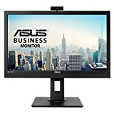 ASUS BE24DQLB 24' (23.8') Monitor, FHD, 1920 x 1080, IPS, DP, HDMI, DVI-D, D-Sub, Webcam con Mic Array, Mini-PC Mount Kit, Flicker Free, Filtro Luce Blu, Certificazione TUV