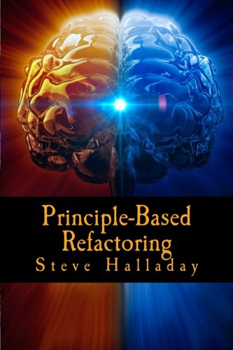 Principle-Based Refactoring: Learning Software Design Principles by Applying Refactoring Rules