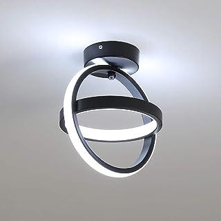 DAXGD Luces de techo LED, lámpara de techo de 21 W, iluminación para sala de estar, cocina, pasillo, balcón, pasillo de entrada, juego para iluminación de pared, Luz blanca fría