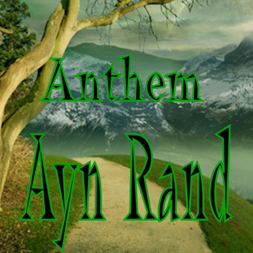 Anthem audiobook cover art