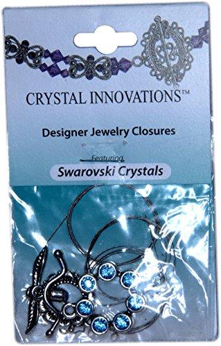 Swarovski Crystal Innovations 7 Stone Lt Sapphire Blue Bracelet Kit (2)