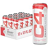 C4 Smart Natural Energy Drinks With Delicious Flavors, Zero Calories, Sugar Free, Zero Carbs,  ...