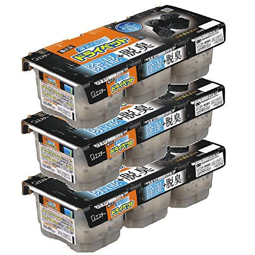 【まとめ買い】備長炭ドライペット 除湿剤 使い捨てタイプ (420ml×3個パック)×3個
