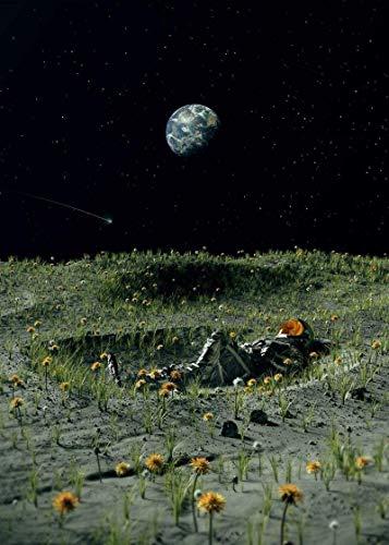 Rompecabezas de 1000 piezas para adultos y niños, astronauta galaxia planeta para niños sala de juegos de 75 x 50 cm, rompecabezas de descompresión intelectual sin marco