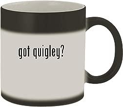 got quigley? - Ceramic Matte Black Color Changing Mug, Matte Black