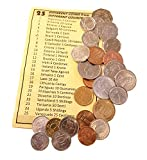 Coins - Coins Collection - 25 World Coins from 25 Different Countries