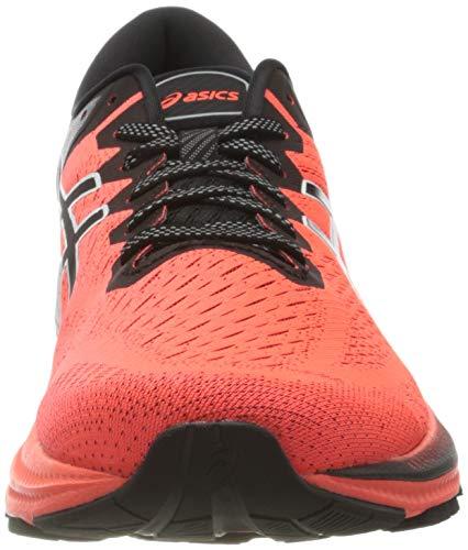 Asics Gel-Kayano 27 Tokyo, Road Running Shoe Hombre, Sunrise Red/Black, 46 EU