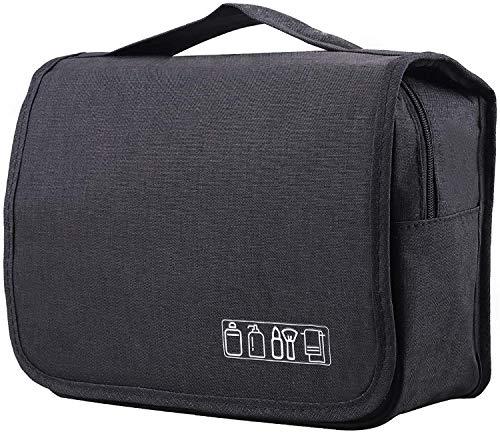 favorite [ 在庫処分 ] トラベルバッグ ポーチ 多機能 大容量 旅行 バッグ 吊り下げ可能 シンプル デザイン トラベルウォッシュバッグ (ブラック)
