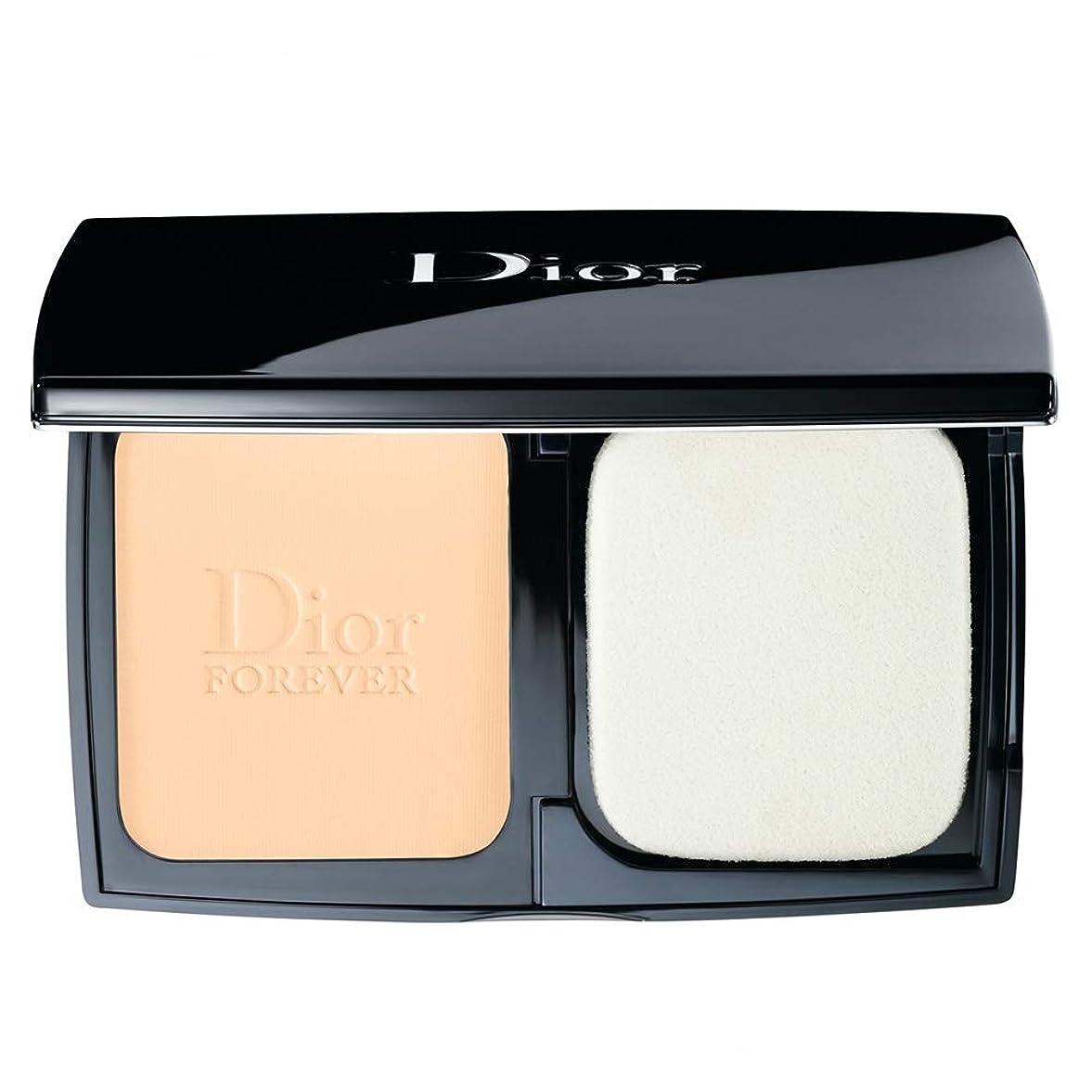 涙スポーツをする繰り返すクリスチャンディオール Diorskin Forever Extreme Control Perfect Matte Powder Makeup SPF 20 - # 010 Ivory 9g/0.31oz並行輸入品