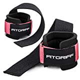 Fitgriff Zughilfen mit Handgelenkschutz Comfort Zughilfe für Krafttraining, Fitness, Bodybuilding...