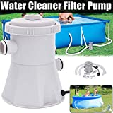 220V Swimming Pool Filter Pump, Elastric Filter Pump Pool Cleaner Cartridge Filter Pump