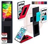 Hülle für Ulefone BE X Tasche Cover Hülle Bumper | Rot | Testsieger