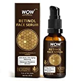 WOW Skin Science Retinol Face Serum - Oil Free - Skin Plumping, Boost Collagen, Anti Acne, Anti Aging, Restoration - No Parabens, Silicones & Mineral Oil, 30 ml