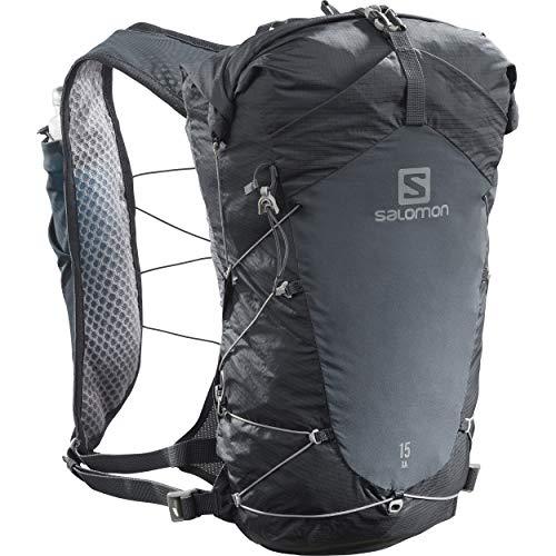 Salomon XA 15 Rucksack, Unisex, Erwachsene, Ebony/Black, S/M