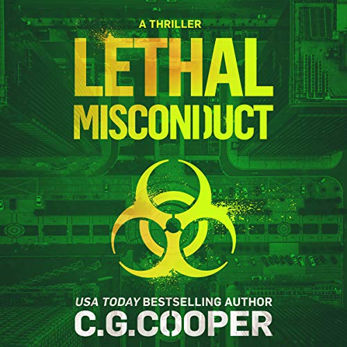 Lethal Misconduct audiobook cover art
