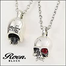 Roen BLACK ロエン ブラック スカル ネックレス シルバー RO-003